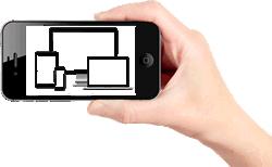 мобильных устройств сайт, разработка сайта